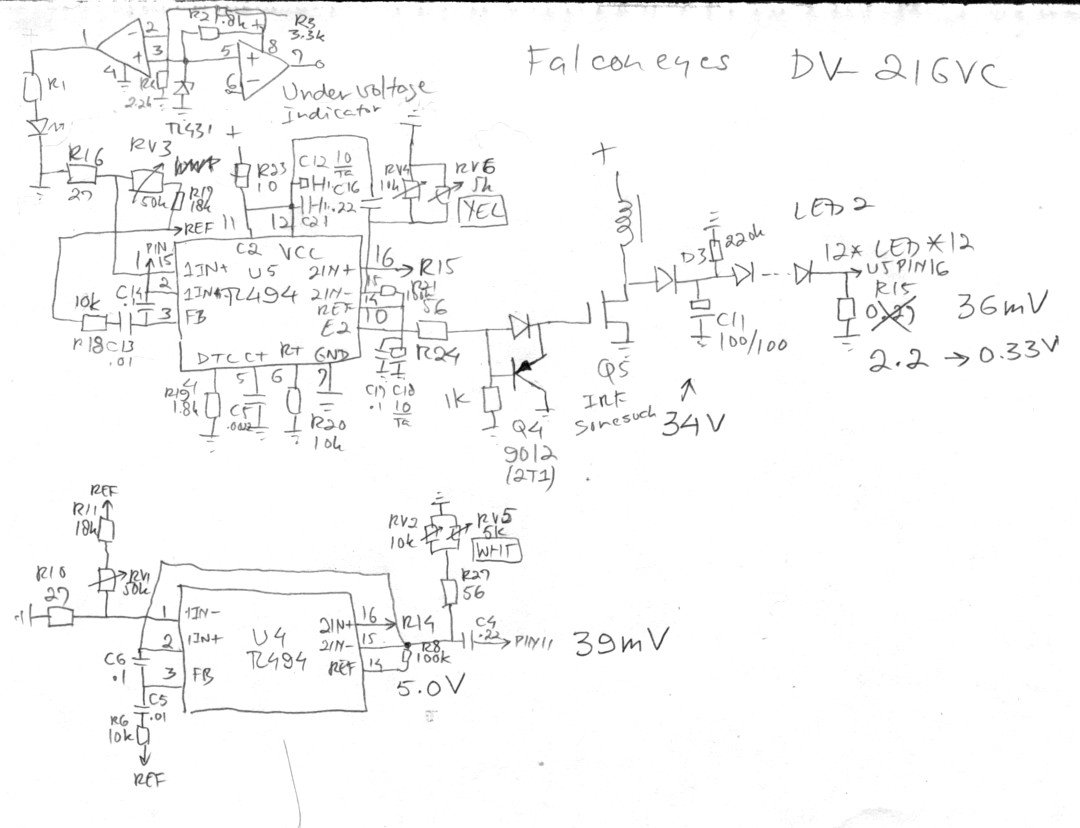 fixing china quality product Mountains in China Location ok the drawing shows a bog standard tl494 pwm controller this chip is used primarily in atx puter power supplies and it works very well