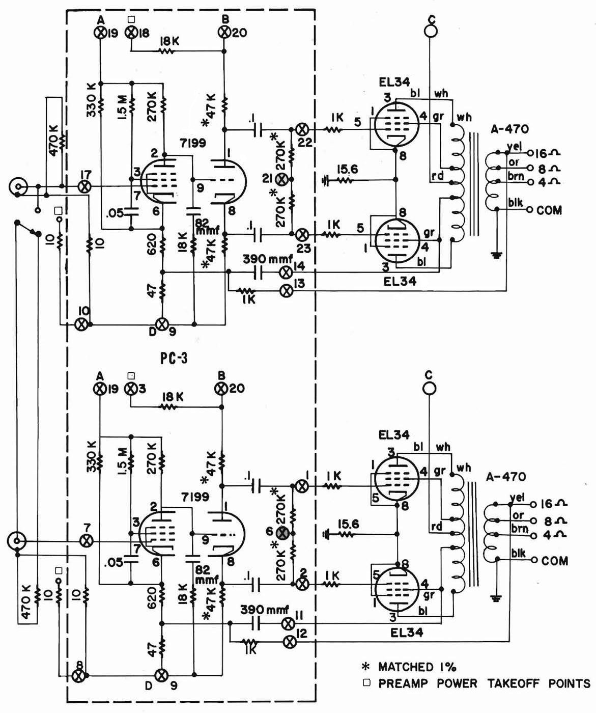 dynaco_st70_amp_schematic vaa mkii amp dynaco st70 wiring diagram at reclaimingppi.co